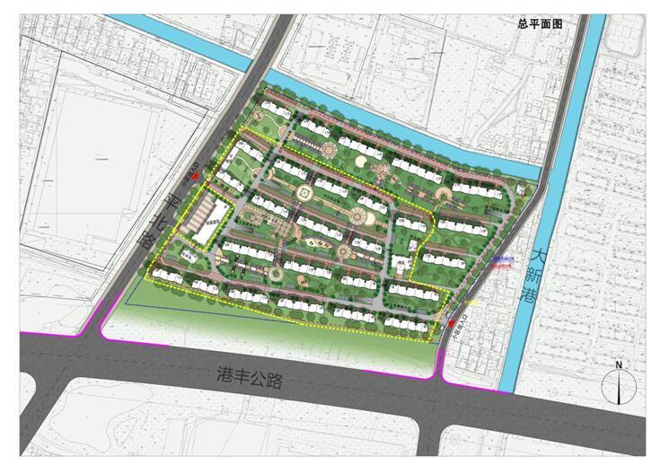 一、项目概况 本工程项目地址位于张家港市大新镇港丰公路北侧、平北路东侧。总用地面积为99.1亩,总建筑面积为15.6万平方米。其中物业及配套用房2600平方米,地下车库32000平方米。建设安置房19幢,层数为711层,总套数为952套。  (布局效果图) 二、征求公众意见内容 根据《国家发展改革委重大固定资产投资项目社会稳定风险评估暂行办法》(发改投资〔2012〕2492号)和《江苏省发展和改革委员会关于印发省发展改革委固定资产投资项目社会稳定风险评估暂行办法的通知》(苏发改规发〔2012〕1号),现对